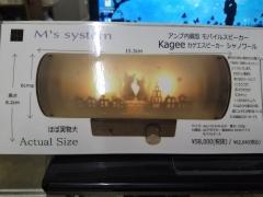 kagee speaker